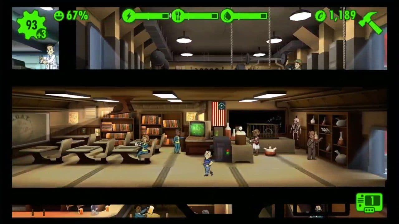 Fallout Shelter - mobile