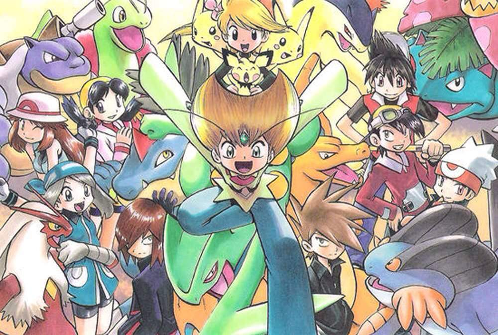 a year after the first Pokémon was released, Pokémon Adventures, or Pokémon Special in Japan, brings exciting new interpretations to an already massive multiverse Image provided by aminoapps.com