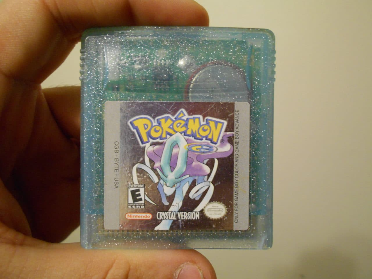 Crystal Version was my very first Pokémon game, starting me on my Pokémon journey over 15 years ago.