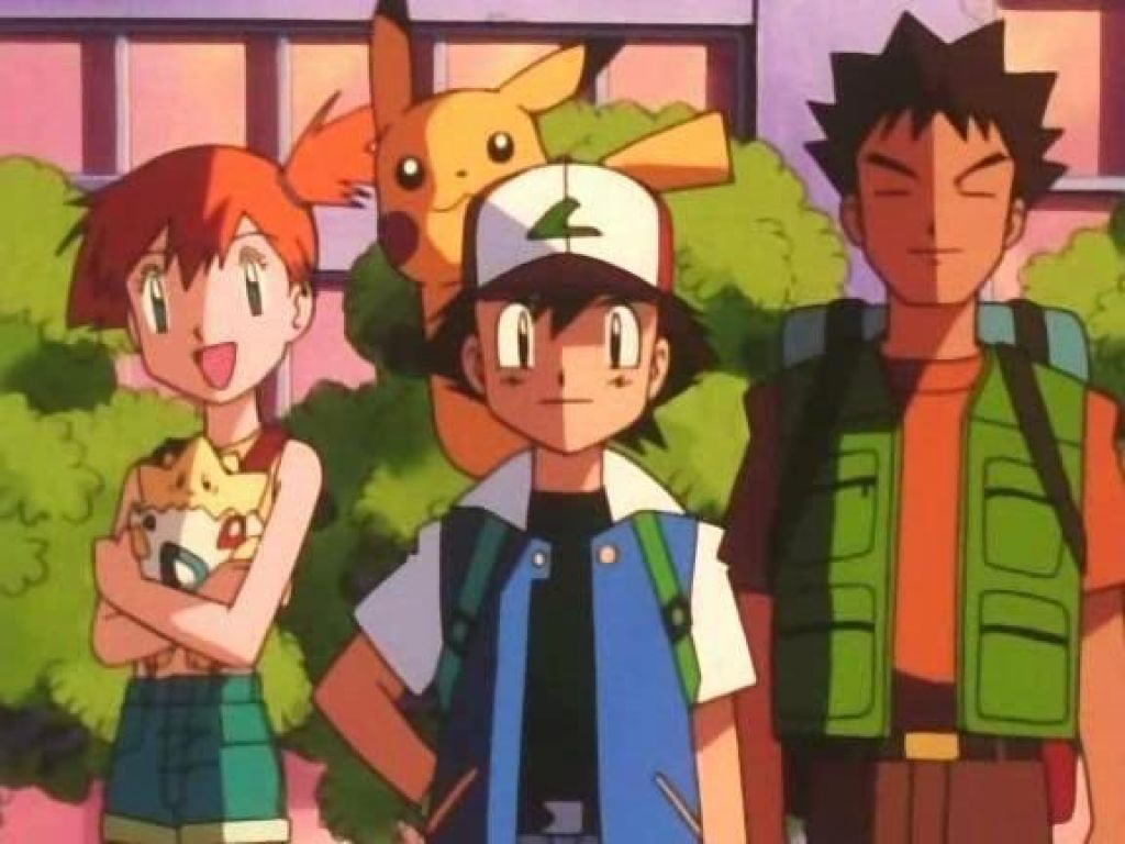 The many adventures of Ash and co. are some of the greatest that children's anime have ever seen. Image provided by otakudome.com