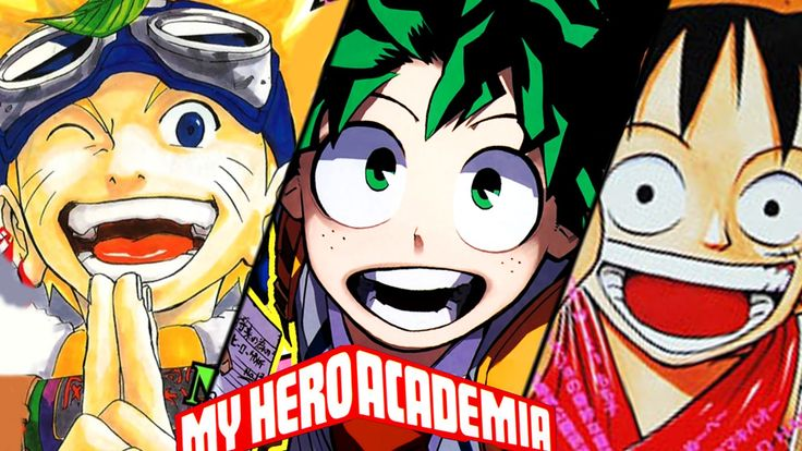 My Hero Academia has already eared recognition from Jump fans rivaling that of Naruto and One Piece. Image provided by pininterest.com