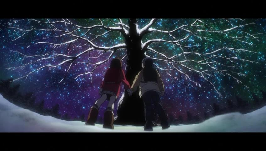 """The """"Christmas"""" Tree scene in episode 3 showcased some of the best animation to air this entire season. Image provided by otakotaku.com"""