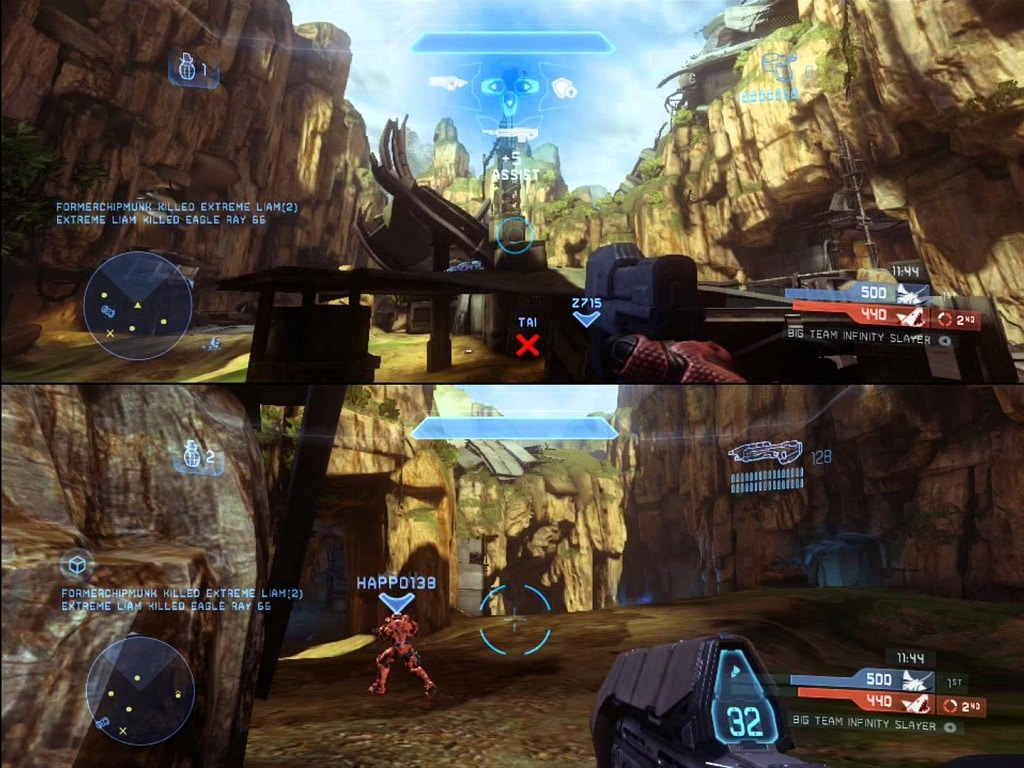 future for local multiplayer halo