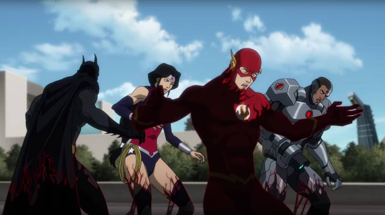 With the Justice League in peril, it's up to the underdog Titans to save the day. Image provided by moviepilot.com