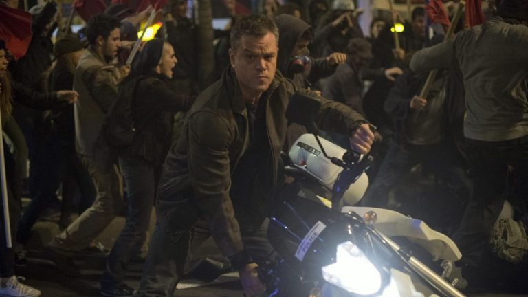 The name's Bourne. Jason Bourne. Source: Universal Pictures.
