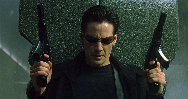 Neo's role was nearly given to Will Smith. Source: Warner Bros. Pictures.