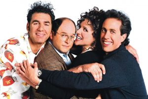 The legends of Seinfeld. Source: Sony Pictures.