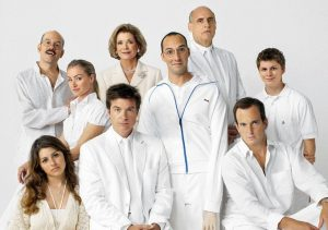 The infamous Bleuth family of Arrested Development.