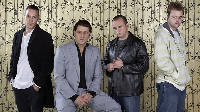 The bad boys of Underbelly. Source: Nine Network.