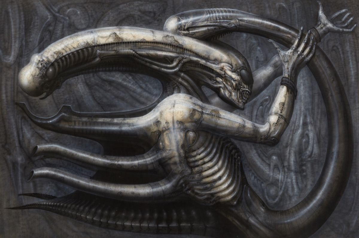 H.R Giger's work