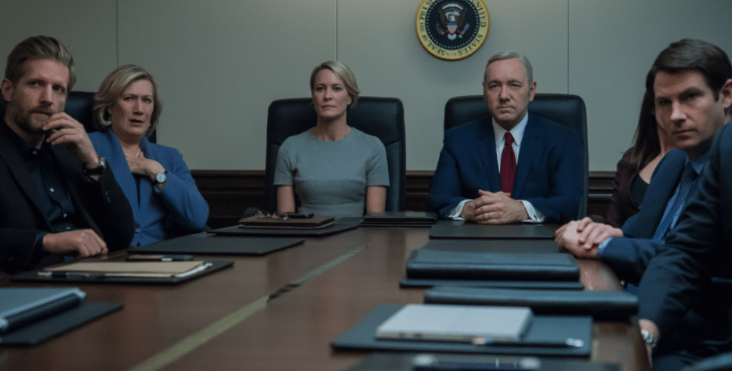 Beheading on House of Cards