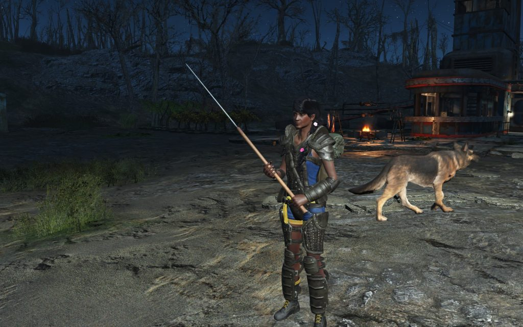 Fallout 4 mods Hewing Spear