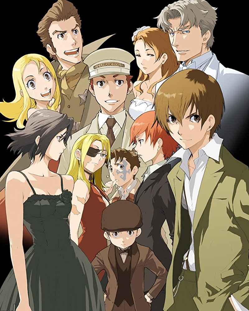The cast of Baccano!