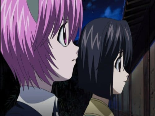 Nana and Mayu Elfen Lied