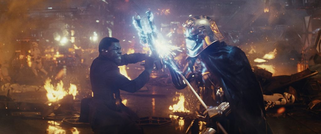 Finn-Phasma Fight