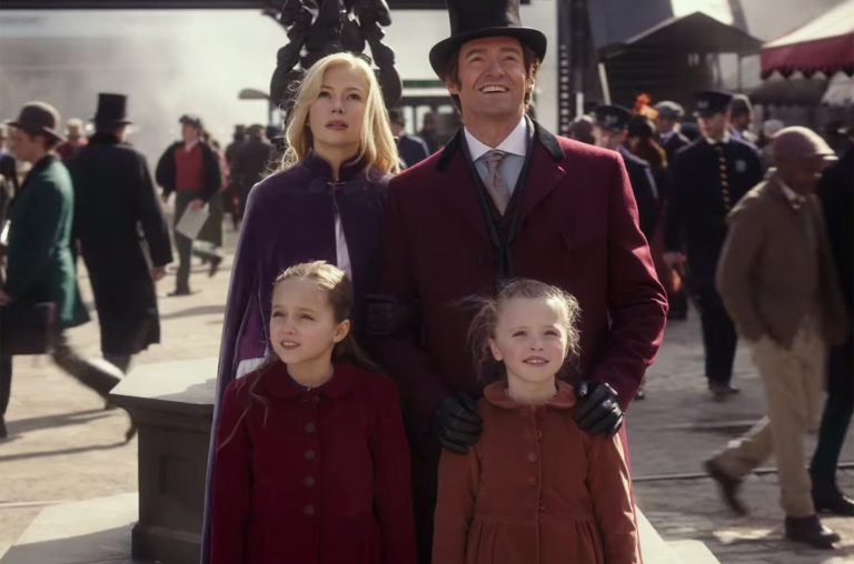 Showman and family. the greatest showman