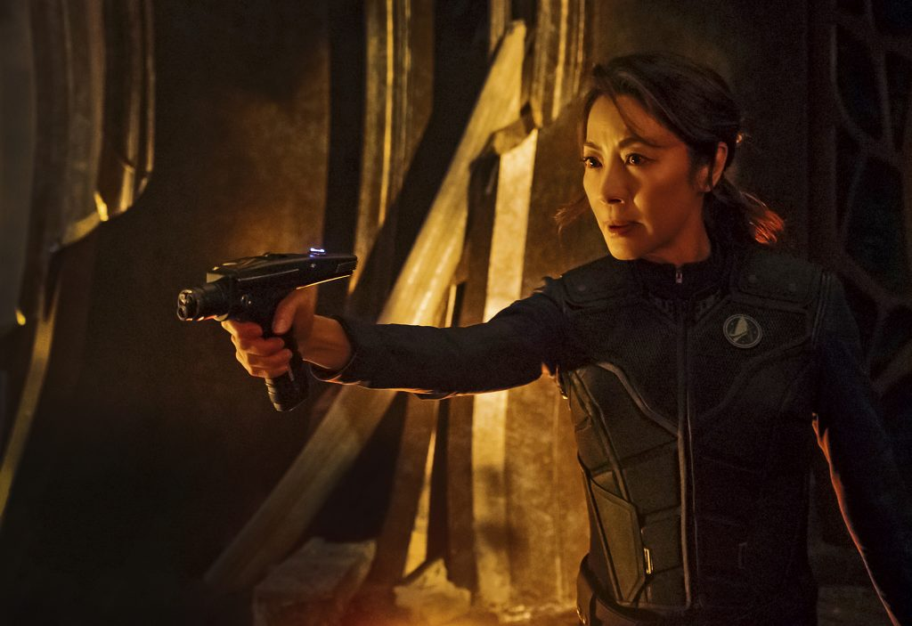 Michelle Yeoh as Captain Philippa Georgiou. STAR TREK: DISCOVERY