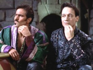 Bruce Campbell and Ted Raimi