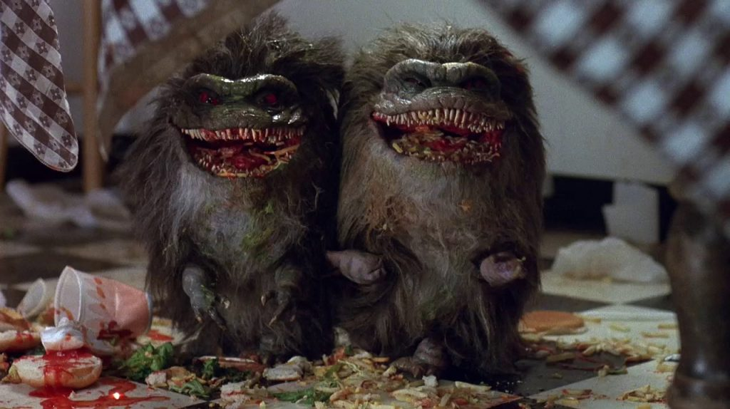 """""""Critters"""" (1986)."""