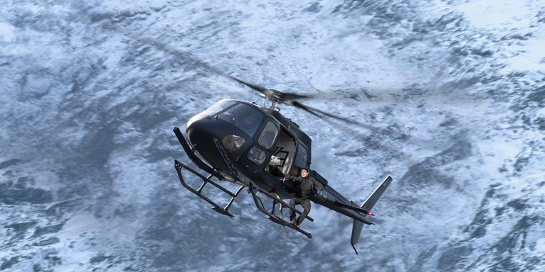 Promo image for new mission impossible film