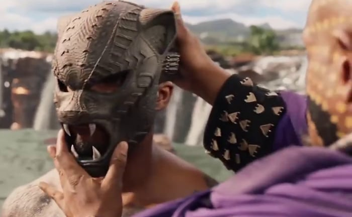 Facemask of the Black Panther