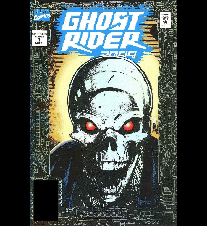 Obscure comic story - Ghost Rider 2099 Vol 1 #1