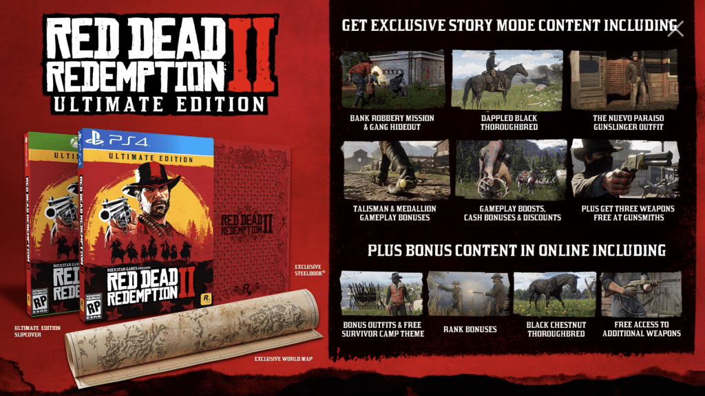Red Dead Redemption 2 rockstar games ultimate edition