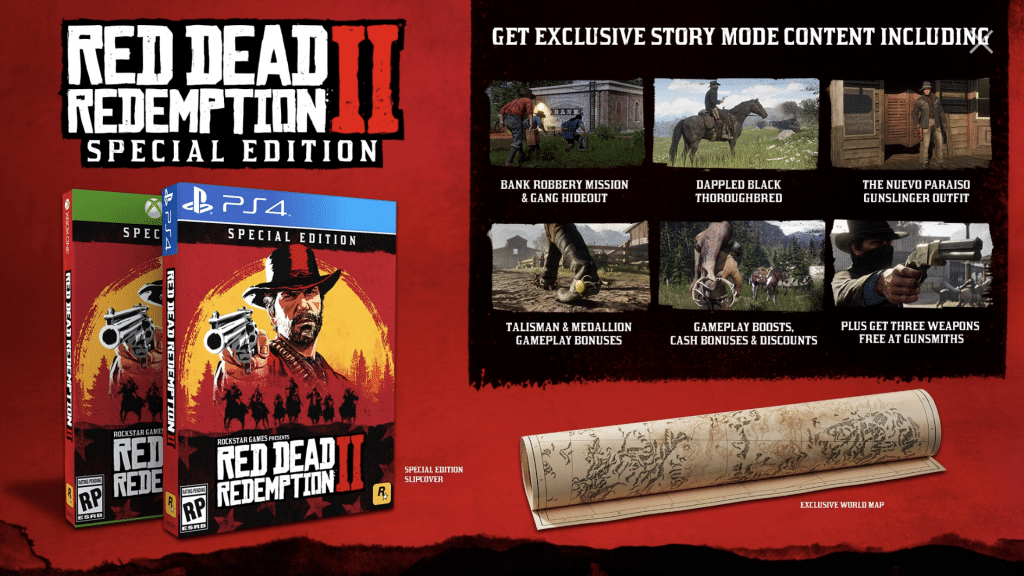 Red Dead Redemption 2 rockstar games special edition