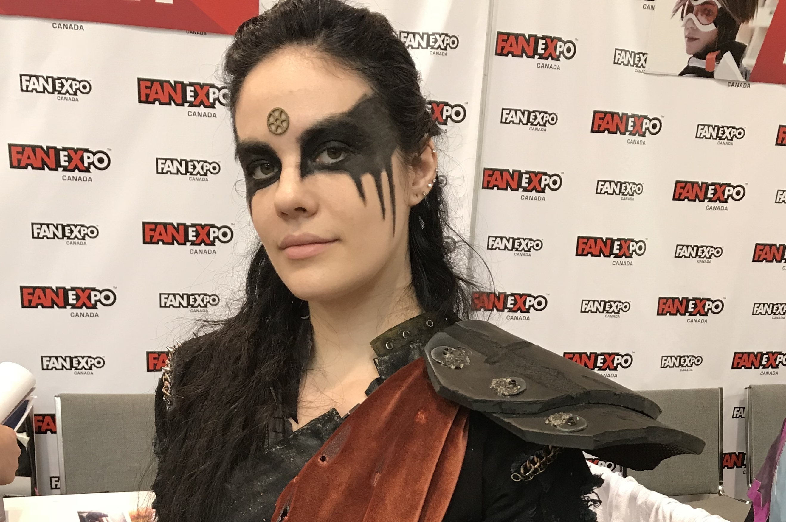 Audrey Cosplay as Lexa from The 100 at Fan Expo Canada 2018.