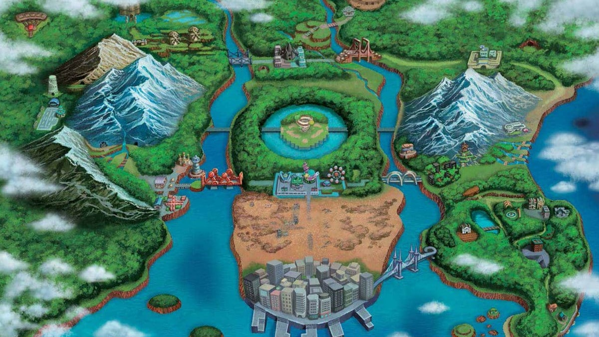 Pokemon locations in real life