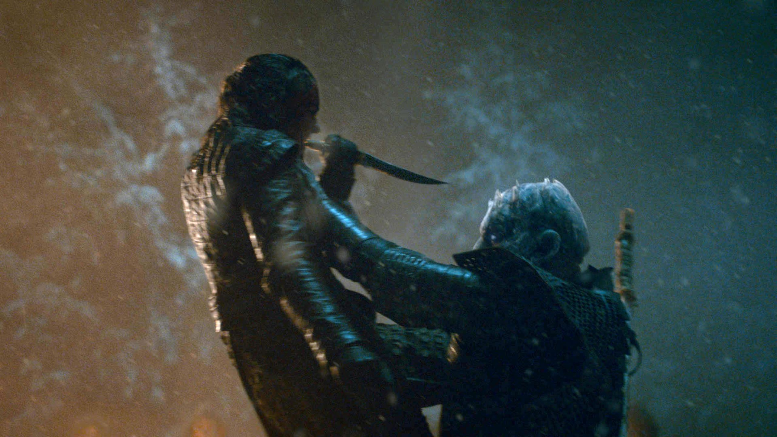 Night King killed by Arya Stark