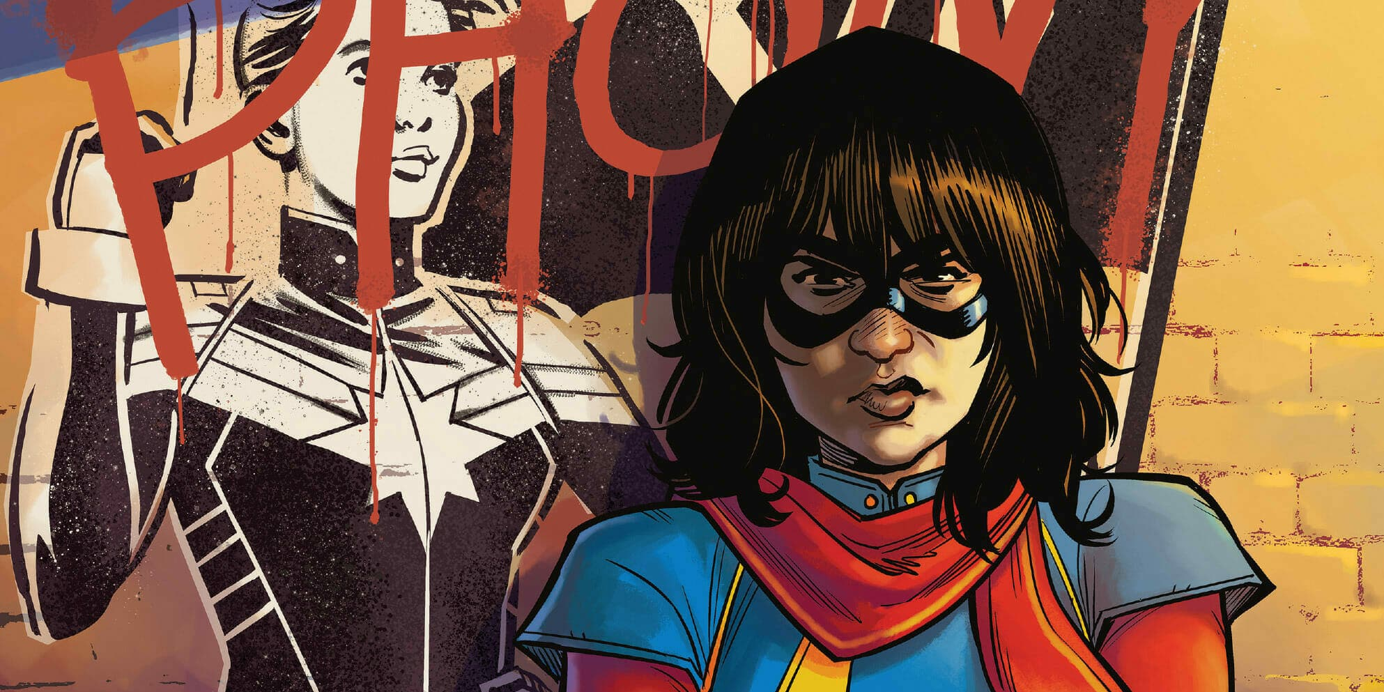 Kamala Khan Marvel tc series