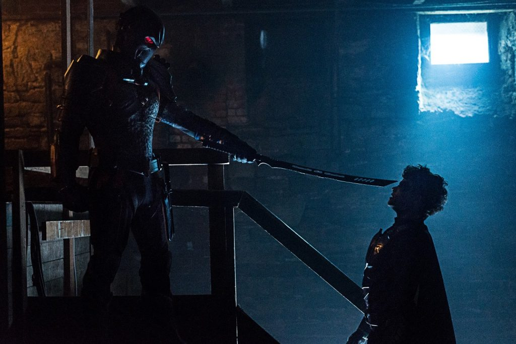 Deathstroke and Jason Todd-Titans S2E5-Deathstroke-Warner Brothers 2