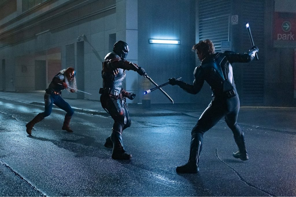 Ravager, Nightwing, Deathstroke-Titans-S2-Nightwing