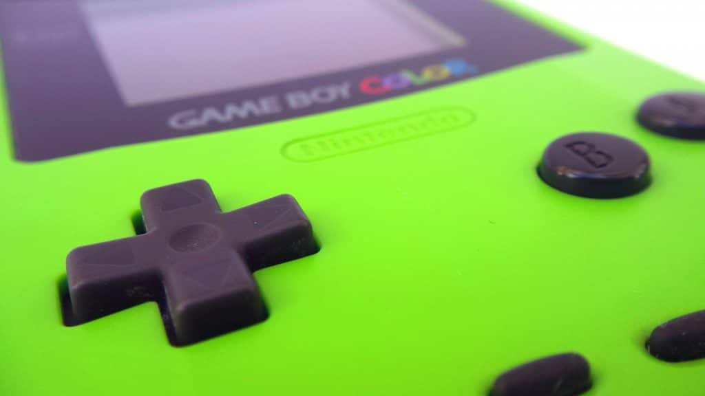 best game consoles ever - game boy colour