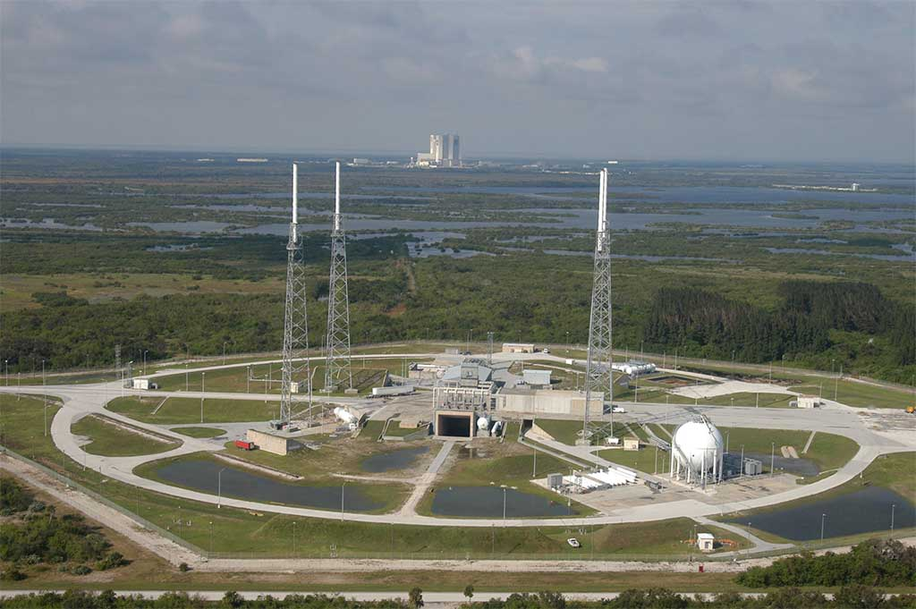 A history of SpaceX Space Launch Complex 40 (SLC-40