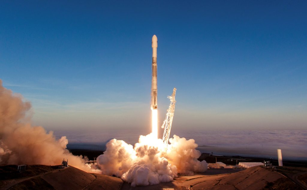 A history of SpaceX 2018 - Iridium