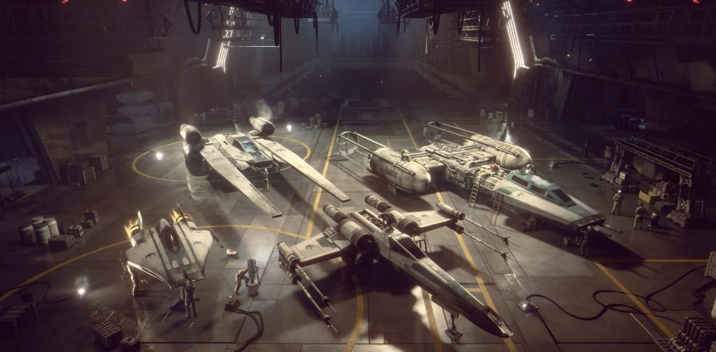 Star Wars Squadrons Fleet base